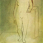 Pablo Picasso (1881-1973) Period of creation: 1919-1930 - 1923 Femme nue debout
