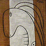 1927 Le cri, Pablo Picasso (1881-1973) Period of creation: 1919-1930