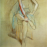 Pablo Picasso (1881-1973) Period of creation: 1919-1930 - 1920 Danseuse assise (Olga Picasso)