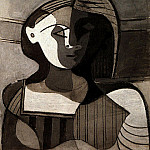 1926 Buste de jeune fille , Pablo Picasso (1881-1973) Period of creation: 1919-1930