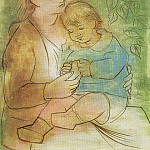 Pablo Picasso (1881-1973) Period of creation: 1919-1930 - 1922 MКre et enfant1