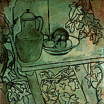 1920 Nature morte aux tomates, Pablo Picasso (1881-1973) Period of creation: 1919-1930