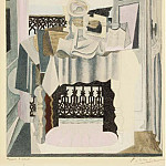 1920 La table devant la fenИtre, Pablo Picasso (1881-1973) Period of creation: 1919-1930