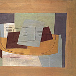 1921 Nature morte gВomВtrique Е la partition [Partition et guitare], Пабло Пикассо (1881-1973) Период: 1919-1930