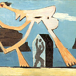Pablo Picasso (1881-1973) Period of creation: 1919-1930 - 1928 Joueurs de ballon sur la plage
