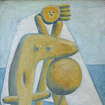 1928 Baigneuse3, Pablo Picasso (1881-1973) Period of creation: 1919-1930