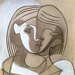 1926 TИte de femme, Pablo Picasso (1881-1973) Period of creation: 1919-1930