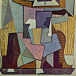 Pablo Picasso (1881-1973) Period of creation: 1919-1930 - 1919 Nature morte sur un guВridon (La table)