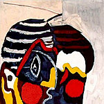 1926 Visage, Pablo Picasso (1881-1973) Period of creation: 1919-1930