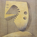 1929 Visage [TИte], Pablo Picasso (1881-1973) Period of creation: 1919-1930
