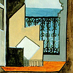 1919 Balcon avec vue sur mer, Pablo Picasso (1881-1973) Period of creation: 1919-1930