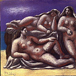1921 Groupe de nus fВminins1, Pablo Picasso (1881-1973) Period of creation: 1919-1930