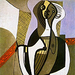 Pablo Picasso (1881-1973) Period of creation: 1919-1930 - 1926 Femme assise