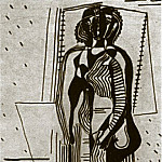 1926 Femme debout, Pablo Picasso (1881-1973) Period of creation: 1919-1930