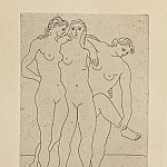 1922 Les trois baigneuses III, Pablo Picasso (1881-1973) Period of creation: 1919-1930