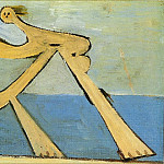 1928 Baigneuse4, Pablo Picasso (1881-1973) Period of creation: 1919-1930
