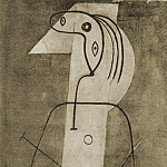 1927 Femme debout, Pablo Picasso (1881-1973) Period of creation: 1919-1930
