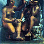 Pablo Picasso (1881-1973) Period of creation: 1919-1930 - 1920 Deux baigneuses assises