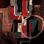 1919 Fillette au cerceau. JPG, Pablo Picasso (1881-1973) Period of creation: 1919-1930
