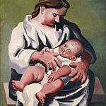 1921 MaternitВ [MКre et enfant], Pablo Picasso (1881-1973) Period of creation: 1919-1930