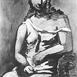 Pablo Picasso (1881-1973) Period of creation: 1919-1930 - 1923 Femme