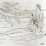1921 Baigneuses1, Pablo Picasso (1881-1973) Period of creation: 1919-1930