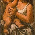 Pablo Picasso (1881-1973) Period of creation: 1919-1930 - 1921 MКre et enfant2