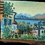 Pablo Picasso (1881-1973) Period of creation: 1919-1930 - 1920 Paysage [Paysage Е Dinard]