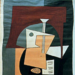 1920 Guitare sur un guВridon, Pablo Picasso (1881-1973) Period of creation: 1919-1930