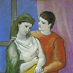 Pablo Picasso (1881-1973) Period of creation: 1919-1930 - 1923 Les amoureux