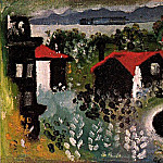 1922 Paysage Е Juan-les-Pins] Paysage Е Dinard, Pablo Picasso (1881-1973) Period of creation: 1919-1930