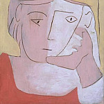 Pablo Picasso (1881-1973) Period of creation: 1919-1930 - 1924 TИte de femme