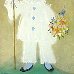 Pablo Picasso (1881-1973) Period of creation: 1919-1930 - 1929 Portrait de Paul en pierrot