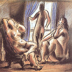 1920 Trois nus, Pablo Picasso (1881-1973) Period of creation: 1919-1930