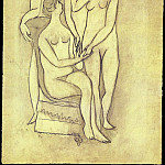 Pablo Picasso (1881-1973) Period of creation: 1919-1930 - 1920 Trois femmes