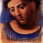1921 TИte de femme7, Pablo Picasso (1881-1973) Period of creation: 1919-1930