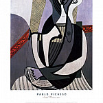 1927 femme assise, Pablo Picasso (1881-1973) Period of creation: 1919-1930