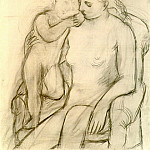 Pablo Picasso (1881-1973) Period of creation: 1919-1930 - 1923 Femme et enfant [MaternitВ]