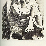 1920 Femme assise4, Pablo Picasso (1881-1973) Period of creation: 1919-1930