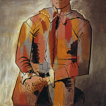 1923 Arlequin, les mains croisВes , Pablo Picasso (1881-1973) Period of creation: 1919-1930