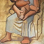 Pablo Picasso (1881-1973) Period of creation: 1919-1930 - 1921 MКre et enfant4