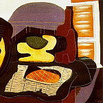 1924 Nature morte Е la galette, Pablo Picasso (1881-1973) Period of creation: 1919-1930