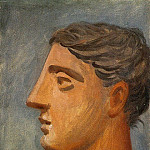 Pablo Picasso (1881-1973) Period of creation: 1919-1930 - 1921 Profil de femme