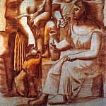 1921 Trois femmes Е la fontaine4, Pablo Picasso (1881-1973) Period of creation: 1919-1930