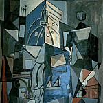 1919 Vue sur le clocher de lВglise Saint-Augustin, Pablo Picasso (1881-1973) Period of creation: 1919-1930
