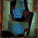 1920 Femme assise1, Pablo Picasso (1881-1973) Period of creation: 1919-1930