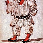 Pablo Picasso (1881-1973) Period of creation: 1919-1930 - 1920 Projet pour le costume de Pulcinella. JPG