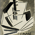 1925 Guitare, Pablo Picasso (1881-1973) Period of creation: 1919-1930