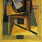 1922 Guitare sur une table, Pablo Picasso (1881-1973) Period of creation: 1919-1930