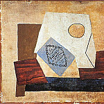 1921 Nature morte au paquet de cigarettes, Pablo Picasso (1881-1973) Period of creation: 1919-1930